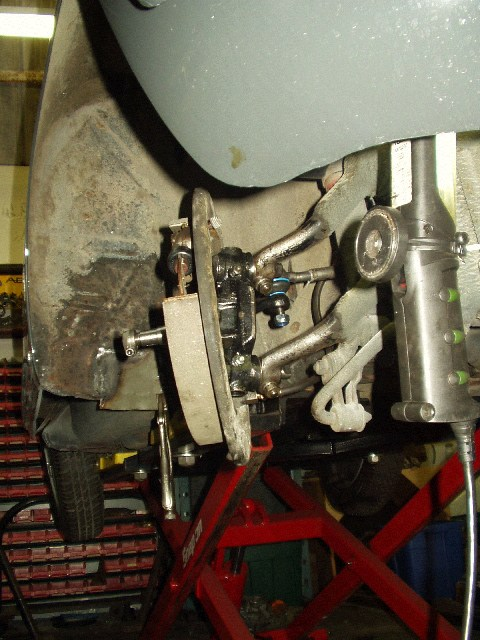 Porsche 356 Restoration Front Suspension Rebuild